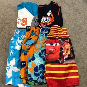 Lot of 3T boys bathing suits